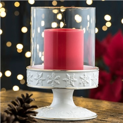 Belleek Living Centrepiece Pillar Candle