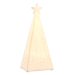 Belleek Living Christmas Tree LED