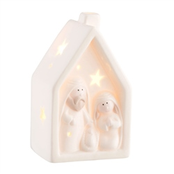 Belleek Living Nativity Nightlight LED
