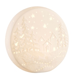 Belleek Living Winter Scene LED