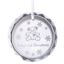 Galway Living Baby's 1st Christmas Hanging Ornament