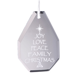 Galway Living Joy Hanging Ornament