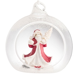 Galway Living Santa Hanging Ornament
