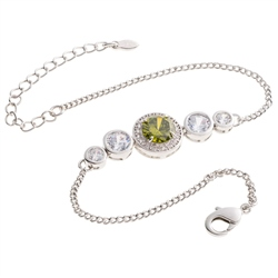 Belleek Designer Jewellery  Elements Bracelet - Earth