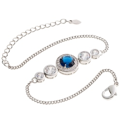 Belleek Designer Jewellery Elements Bracelet - Water