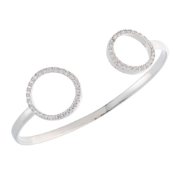 Belleek Designer Jewellery Halo Bangle