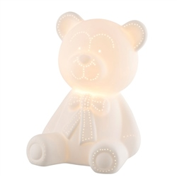Belleek Living Teddy Bear Luminaire (US Fitting)