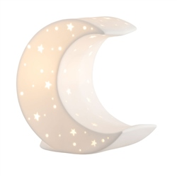 Belleek Living Crescent Moon Luminaire (US Fitting)