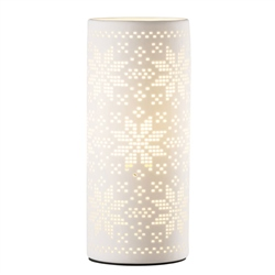 Belleek Living Snowflake Luminaire (US Fitting)