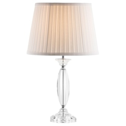 Galway Living Lyon Lamp and Shade (US Fitting)