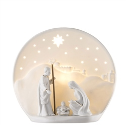 Belleek Living Nativity Luminiare (US Fitting)
