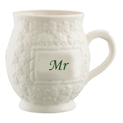 Belleek Classic Mr Shamrock Mug