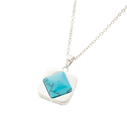 Belleek Designer Jewellery Turquoise Necklace