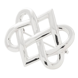 Belleek Designer Jewellery Eternity Brooch
