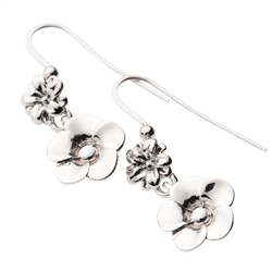 Belleek Designer Jewellery Flora Earrings
