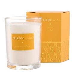 Belleek Living Incense & Amber Candle