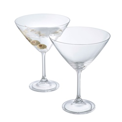 Galway Living Elegance Martini/Cocktail Pair