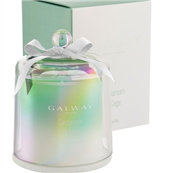Galway Living Cardamom and Sage Cloche Candle