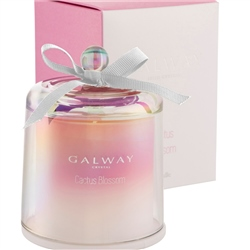 Galway Living Cactus Blossom Cloche Candle