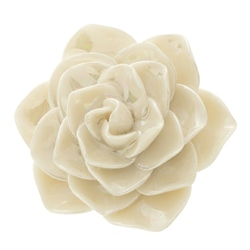 Belleek Classic Jewellery Wild Rose Brooch (Mother of Pearl)