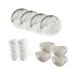 Belleek Living Marbled 12 Piece Set