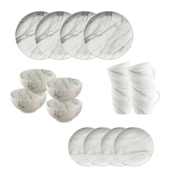 Belleek Living Marbled 16 Piece Set