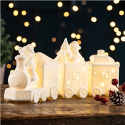 Belleek Living Santa's Train LED