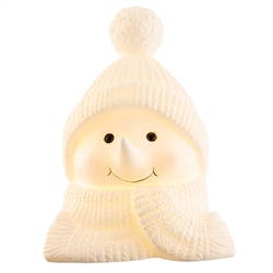 Belleek Living Cosy Snowman LED