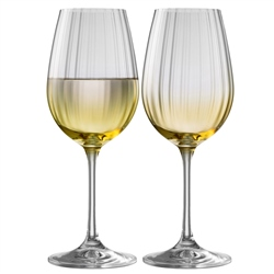 Galway Living Erne Wine Set of 2 in Amber