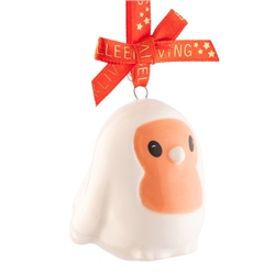 Belleek Living Robin Mini Ornament
