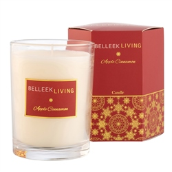 Belleek Living Apple Cinnamon Candle