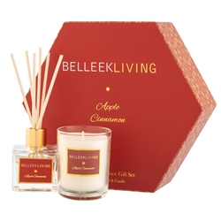 Belleek Living Apple Cinnamon Gift Set
