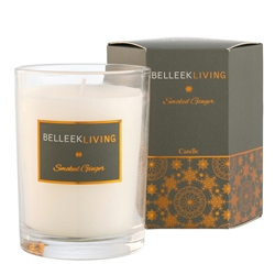 Belleek Living Smoked Ginger Candle