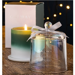 Galway Living Nordic Fir & Pomegranate Bell Jar Candle