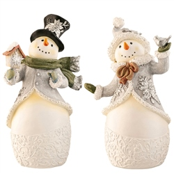 Aynsley Pair of Snowmen