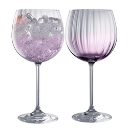 Galway Living Erne Gin & Tonic Pair Amethyst