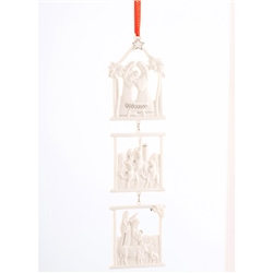 Belleek Living Bethlehem Hanging Ornament Set