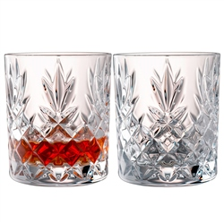 Galway Crystal Renmore DOF/Whiskey Pair