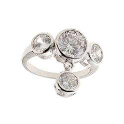Belleek Designer Jewellery Luxe Ring