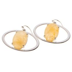 Belleek Living Jewellery Ochre Earrings