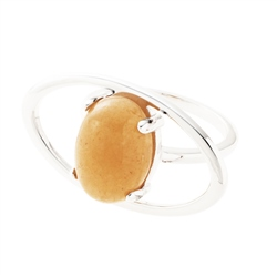 Belleek Designer Jewellery Ochre Ring
