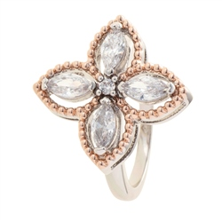 Belleek Designer Jewellery Quart Ring