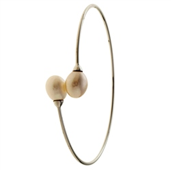 Belleek Living Jewellery Oyster Bangle