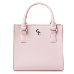 Galway Crystal Fashion Shoulder Bag - Pink