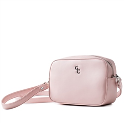 Galway Crystal Fashion Cross Body Bag - Pink