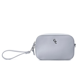 Galway Crystal Fashion Cross Body Bag - Grey