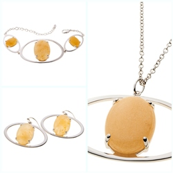 Belleek Living Jewellery Ochre Collection