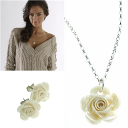 Belleek Classic Jewellery Rose Collection