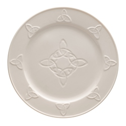 Belleek Classic Trinity Knot Dinner Plate