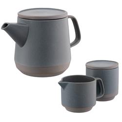 Tsuma Teaset Teapot, Covered Pot & Jug